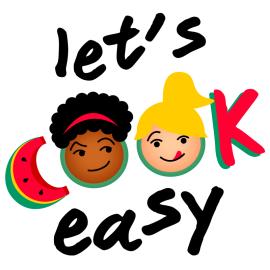 logo lets cook easy