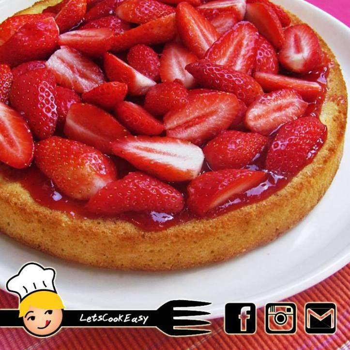 gateau-fraises-citron