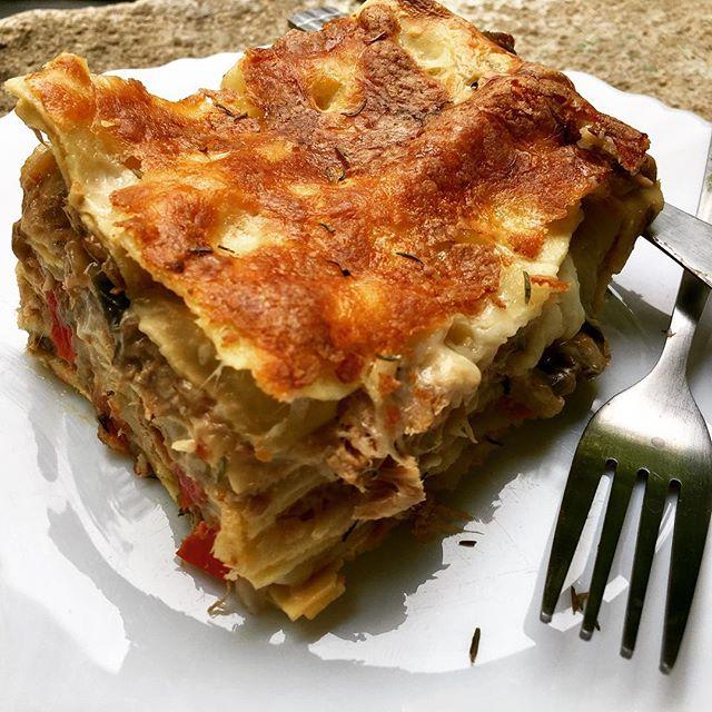 Recette de lasagnes aux aubergines et au thon par Let's Cook Easy