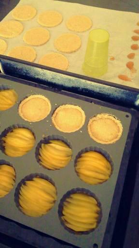 préparation galettes